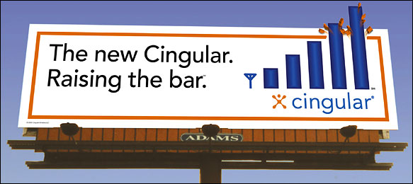 new cingular billboard