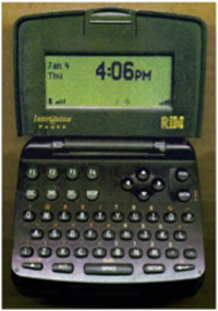 early rim pager