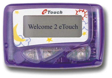 eTouch pager photo
