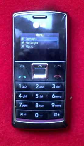 lg text messaging device