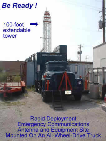 truck with tower